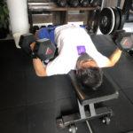 【逞しい胸板】大胸筋をダンベルのみでPOF法で鍛える!